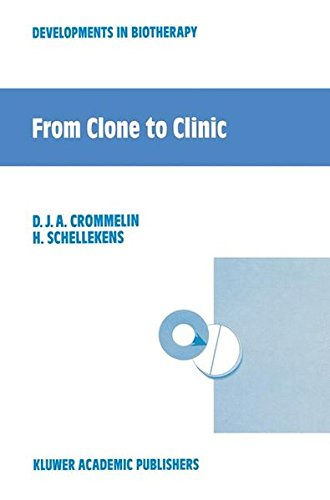 9780792309451: From Clone to Clinic (Developments in Biotherapy)