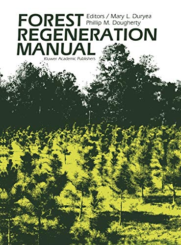 9780792309598: Forest Regeneration Manual (Forestry Sciences)
