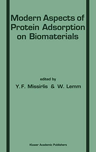 9780792309734: Modern Aspects of Protein Adsorption on Biomaterials