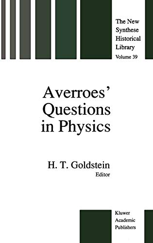 9780792309970: Averroes' Questions in Physics (The New Synthese Historical Library)
