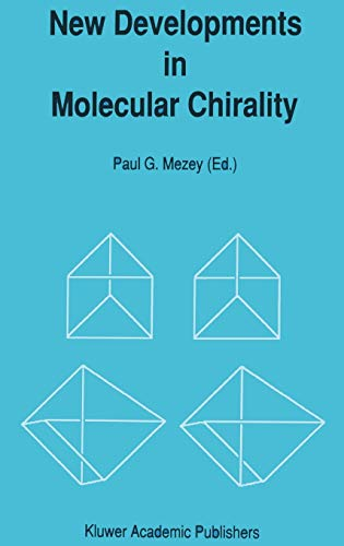 9780792310211: New Developments in Molecular Chirality (Understanding Chemical Reactivity)