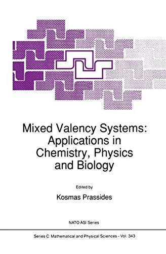 9780792313816: Mixed Valency Systems: Applications in Chemistry, Physics and Biology (Nato Science Series C:)