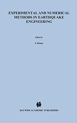 9780792314349: Experimental and Numerical Methods in Earthquake Engineering (Eurocourses: Reliability & Risk Analysis)