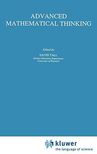 9780792314561: Advanced Mathematical Thinking (Mathematics Education Library)