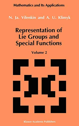 9780792314929: Representation of Lie Groups and Special Functions: 2