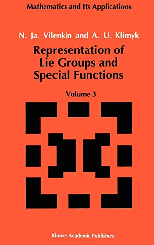 9780792314936: Representation of Lie Groups and Special Functions: Classical and Quantum Groups and Special Functions: 003