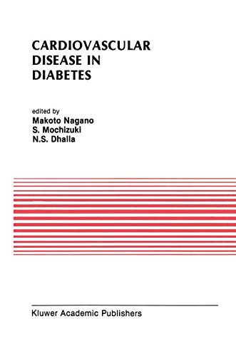 9780792315544: Cardiovascular Disease in Diabetes: Proceedings of the Symposium on the Diabetic Heart sponsored by the Council of Cardiac Metabolism of the ... (Developments in Cardiovascular Medicine)
