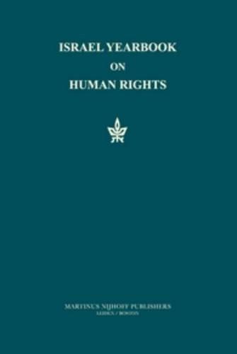 Israel Yearbook on Human Rights 1992 (Hardback)