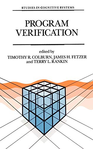 9780792319658: Program Verification: Fundamental Issues in Computer Science (Studies in Cognitive Systems)