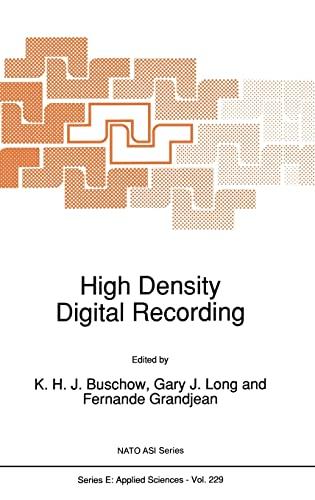High Density Digital Recording: K. H. J.