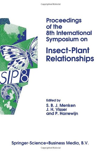 9780792320999: Proceedings of the 8th International Symposium on Insect-Plant Relationships