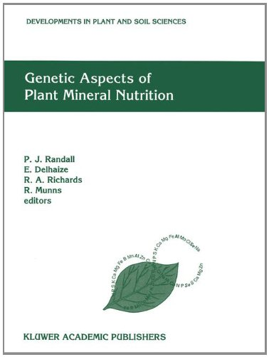 Genetic Aspects of Plant Mineral Nutrition: The Fourth International Symposium on Genetic Aspects ...