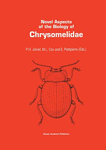 9780792321859: Novel aspects of the biology of Chrysomelidae (Series Entomologica)