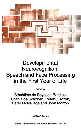 Developmental Neurocognition: Speech and Face Processing in the First Year of Life (Nato Science ...