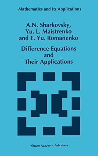 9780792321941: Difference Equations and Their Applications (Mathematics and Its Applications)