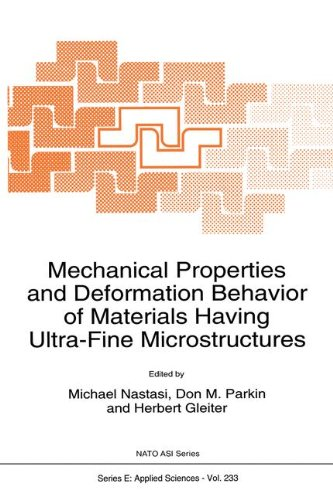 9780792321958: Mechanical Properties and Deformation Behavior of Materials having Ultra-Fine Microstructures (NATO Science Series E: (closed))