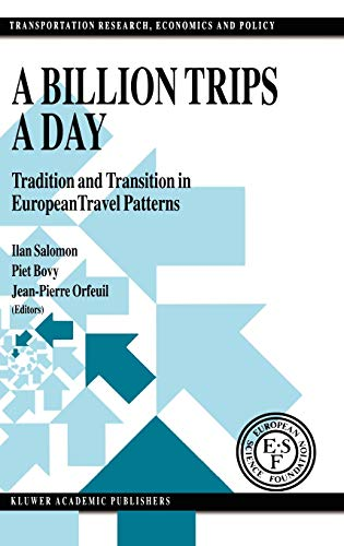 Billion Trips a Day: Tradition and Transition in European Travel Patterns