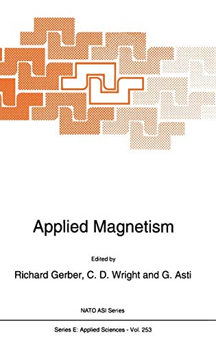 Applied Magnetism: Gerber, Richard; Wright, C.D.; Asti, G. (eds.)