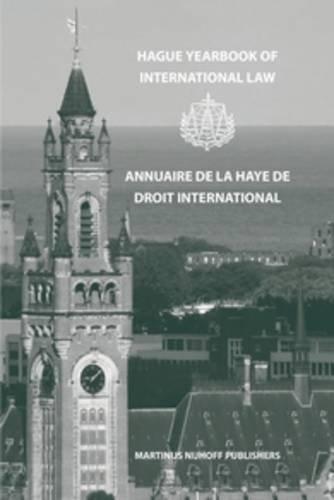Hague Yearbook of International Law / Annuaire de la Haye de Droit International 1993 (...