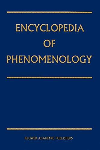 9780792329565: Encyclopedia of Phenomenology