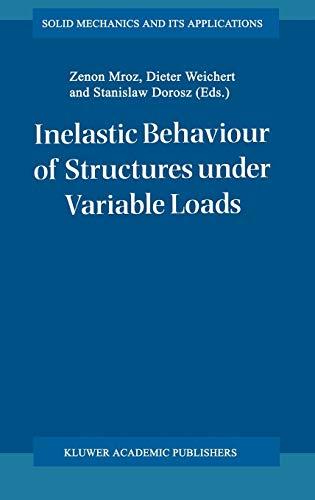 Inelastic Behaviouir of Structures Under Variable Loads: Mroz Zenon et al Editing