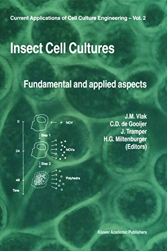 Insect Cell Cultures: Fundamental and Applied Aspects: Vlak, Just M.
