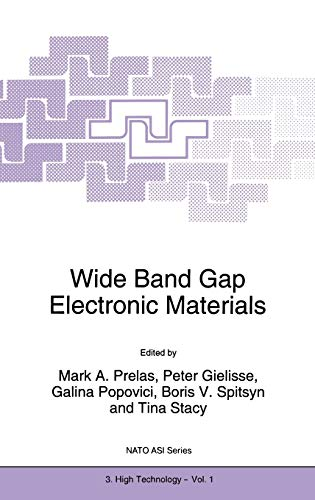 9780792334057: Wide Band Gap Electronic Materials (Nato Science Partnership Subseries: 3)