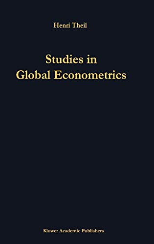 9780792336600: Studies in Global Econometrics (Advanced Studies in Theoretical and Applied Econometrics)
