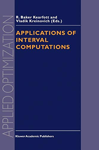 Applications of Interval Computations (Applied Optimization)