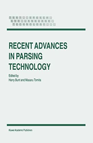 9780792341529: Recent Advances in Parsing Technology (Text, Speech and Language Technology)