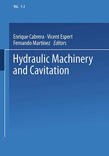 Hydraulic Machinery and Cavitation