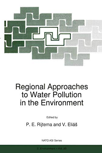 9780792342502: Regional Approaches to Water Pollution in the Environment (Nato Science Partnership Subseries: 2)