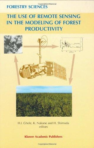 9780792342786: The Use of Remote Sensing in the Modeling of Forest Productivity