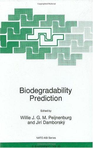Biodegradability Prediction (NATO Science Partnership Sub-Series: 2:)