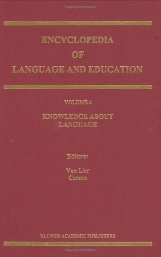 9780792346418: Encyclopedia of Language and Education: Volume 6: Knowledge about Language