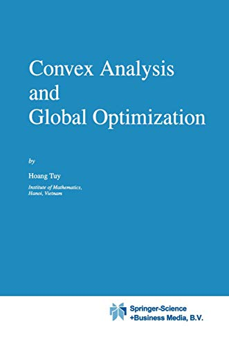 9780792348184: Convex Analysis and Global Optimization (Nonconvex Optimization and Its Applications)