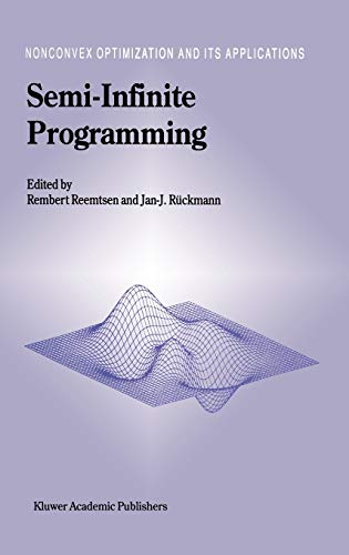 Semi-Infinite Programming Nonconvex Optimization and Its Applications