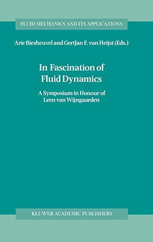 9780792350781: In Fascination of Fluid Dynamics: A Symposium