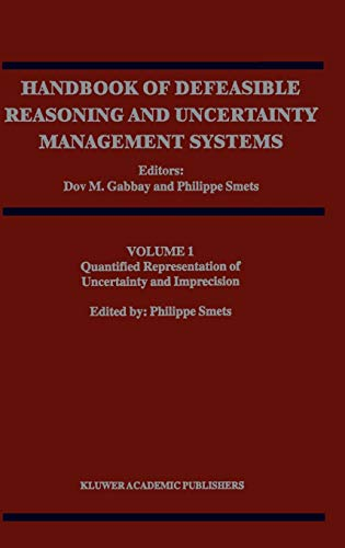 9780792351009: Quantified Representation of Uncertainty and Imprecision (Handbook of Defeasible Reasoning and Uncertainty Management Systems)