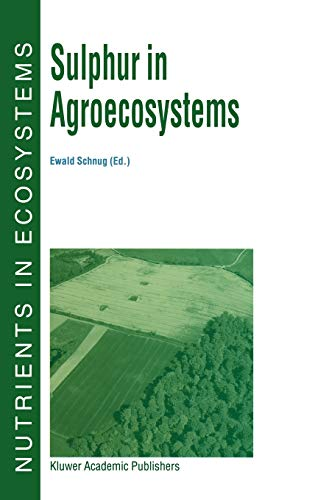 9780792351238: Sulphur in Agroecosystems (Nutrients in Ecosystems)