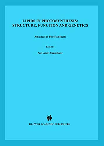 9780792351733: Lipids in Photosynthesis: Structure, Function and Genetics (Advances in Photosynthesis and Respiration)