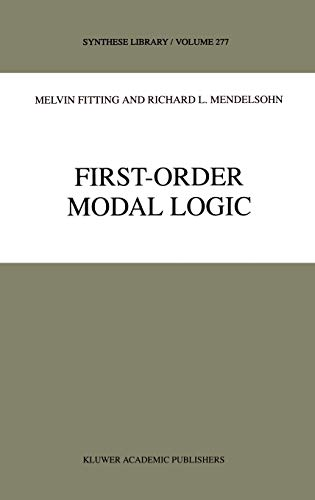 9780792353348: First-Order Modal Logic (Synthese Library)