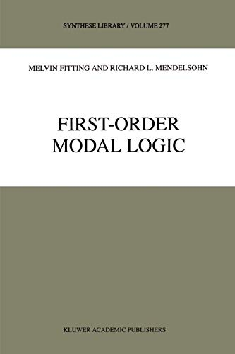 9780792353355: First-Order Modal Logic (Synthese Library)