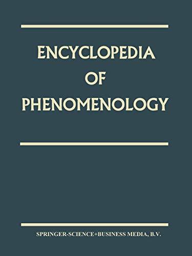 9780792354918: Encyclopedia of Phenomenology (Contributions To Phenomenology)