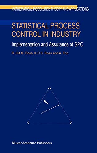 9780792355700: Statistical Process Control in Industry: Implementation and Assurance of SPC (Mathematical Modelling: Theory and Applications)