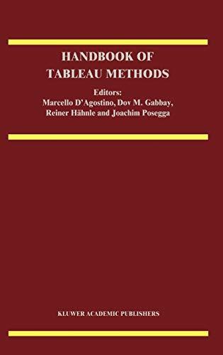 9780792356271: Handbook of Tableau Methods