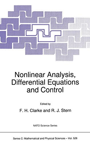 9780792356653: Nonlinear Analysis, Differential Equations and Control (Nato Science Series C:)