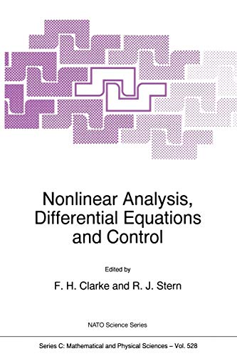 9780792356660: Nonlinear Analysis, Differential Equations and Control (Nato Science Series C:)