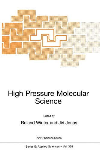 High Pressure Molecular Science: Roland Winter