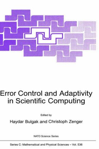 Error Control and Adaptivity in Scientific Computing (Nato Science Series C:): Springer